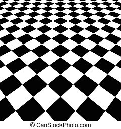 in via di scomparsa, checkered, surface., 3D, superficie,...