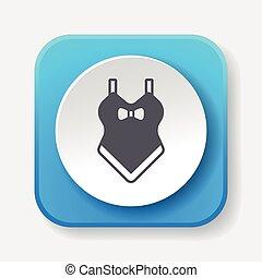 swim suit icon