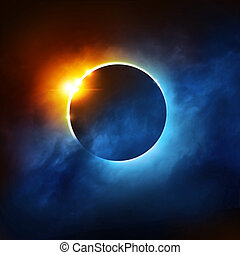 eclipse,  solar