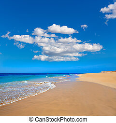 Morro Jable Matorral beach Jandia in Fuerteventura - Morro...