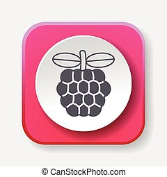 Custard apple icon