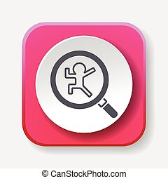 Looking for clues icon