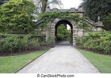 antigas, portões