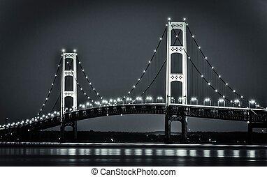 Michigan's Mackinaw Bridge