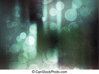 Turquoise Net Background