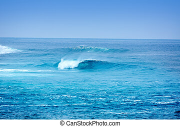Jandia surf beach waves in Fuerteventura - Jandia surf beach...