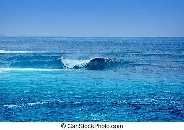 Jandia surf beach waves in Fuerteventura - Jandia surf beach...