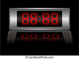 digital alarm clock any