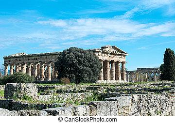 Temple of Paestum - Salerno - italy