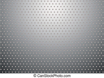 silver metal background bobble