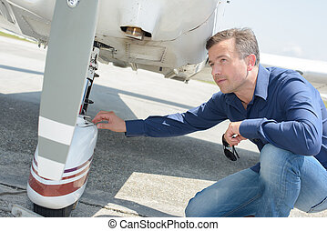 problem in the aircraft