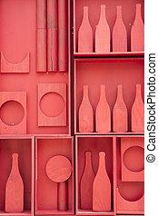 Stylization of small cellar - Stylized representation of a...