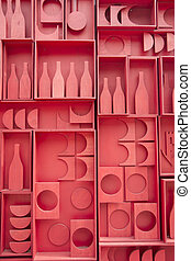 Stylization of small cellar - Stylized representation of a...