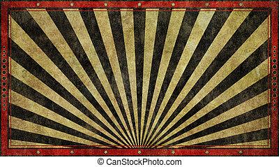 Grunge Widescreen Retro Background Design