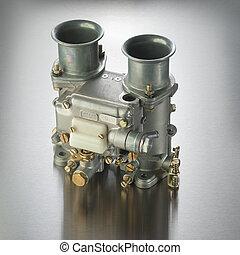 Italian automobile carburetor - Italian carburetor used in...