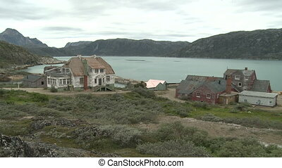 Abandoned mining town in Greenland - Ivittuut is an...