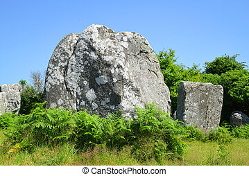Carnac in Brittany, France