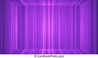 Broadcast Vertical Hi-Tech Lines Stage, Pink, Abstract, Loopable, HD