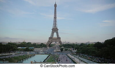 The Eiffel Tower in Paris - The Eiffel Tower in the Paris