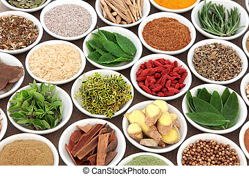 Super Food for Mens Health - Herb, spice and super food...