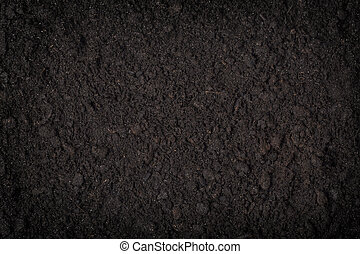 close up of black soil background  pattern  concepts