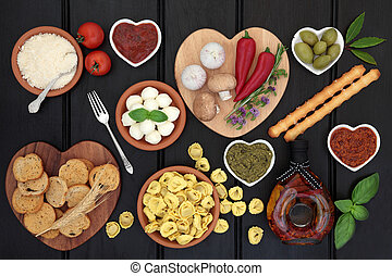 Healthy Mediterranean Diet Food - Mediterranean healthy diet...
