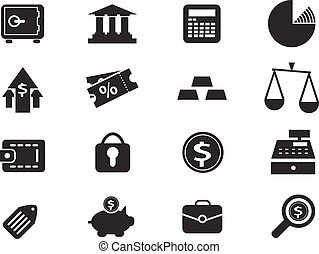 Business and Finance Icons - Business and Finance simply...