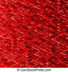 Abstract sci-fi image of rhombs pattern background. -...