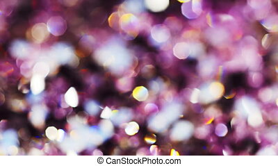 Abstract color bokeh circles background in violet tones,...