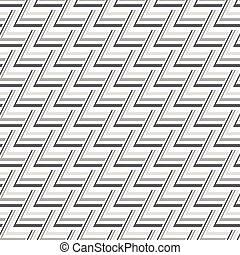 Seamless Gray Scale Abstract Modern Pattern from Triangles -...