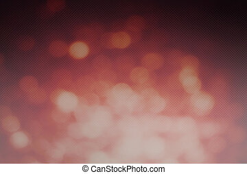Abstract Red bokeh