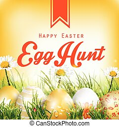 Beautiful Easter Background