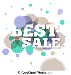 Best sale banner or offer design template. Sale banner...
