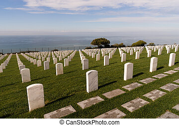 Fort Rosecrans National Cemetery Cabrillo National Monument...