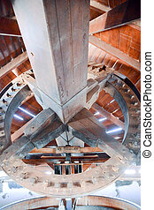 Classic Vintage Windmill Building Interior - Photo Picture...