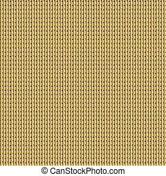 hauberk - vector seamless knitted golden hauberk
