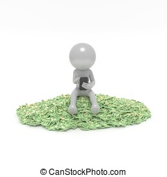 Being sit on money - Sometimes it is possible to think to...