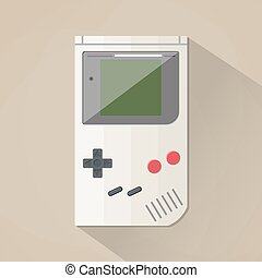Old Gadget. flat design