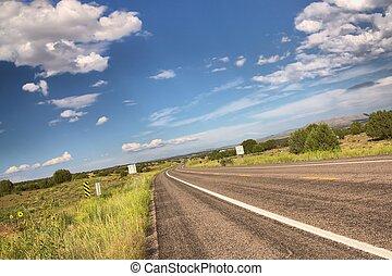 Route 66 (near Seligman), Arizona, USA