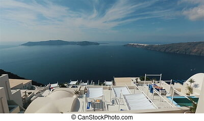 Amazing Santorini panoramic view