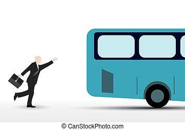 Businessman who runs the bus