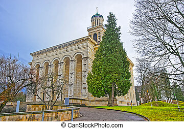 Reformed Church in the Old City of Solothurn Solothurn is...