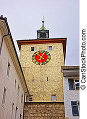 Bieltor Gate in Solothurn in Switzerland