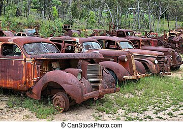 Junk Yard, near the Australia Outback town of Herberton