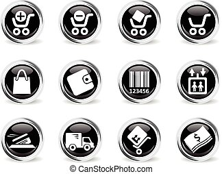 Diving icon set - Diving icons set for web sites and user...