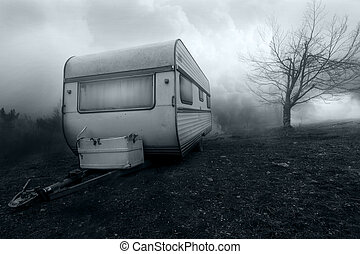 Haunted Vintage Camp Van