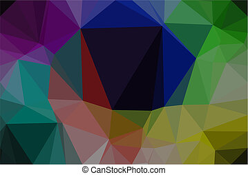 Vector polygon Abstract background
