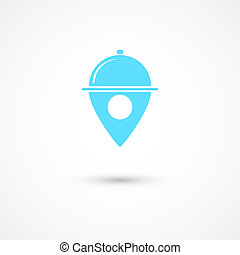 Restaurant tag - Vector illustration of restaurant tag Eps...