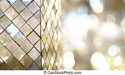 glass mosaic abstract reflection with copy space - glass...