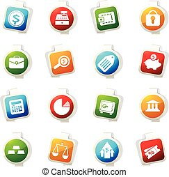 Business and Finance Icons - Business and Finance vector...